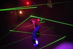 Image result for heist museum laser