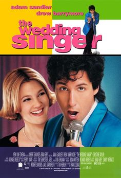 Image result for the wedding singer movie poster