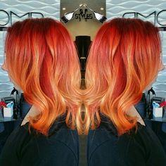 #pompsalon #pravanavivds #galaxyhair #mermaidhair #hairstyles #paintedhair #btcpics #modernsalon #behindthechair #hotd #stocktonhair #dyeddolls #hotonbeauty #colorinspo #sunsethair #redhair #orangehair #yellowhair #embeemechee #colormelt #firehair #highvoltage #bayareahair #modestohair #sacramentohair #edmhair #carnivalhair #festivalhair