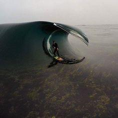 Worlds glassiest wave