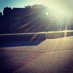 """Here's a bright and shining moment on campus from Instagram user ivetabgchick. This is for our new theme this week, """"Out and About,"""" where we invite people to take pics of somewhere outside! : ) Thanks, Iveta! - Like the idea of themed user-submitted pics."""
