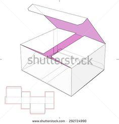 Stock Images similar to ID 393866485 - vector die cut envelope...