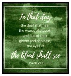 Isaiah 29:18 Book Of Isaiah, Words, Horse