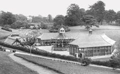 The Calverley Road bandstand and original pavilion in this undated picture. Old Pictures, Old Photos, Vintage Photos, Tunbridge Wells, Thatched Roof, Saint James, Pavilion, Wellness, Fire