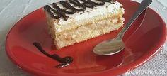 Rýchly nepečený piškótový koláč