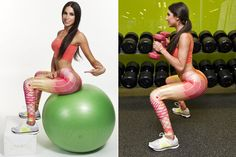 7 moves to get a butt like Jen Selter - I need to get one of those big balls!!