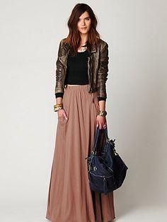 Winter Maxi / Longer Skirts Maxi skirt for fall