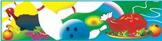 Amazing Full Color Digital Graphics #Bowling #Graphics