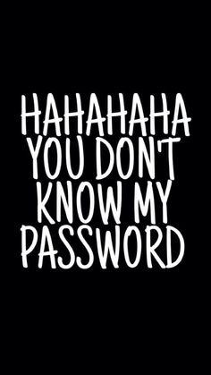 Hahahaha :-)