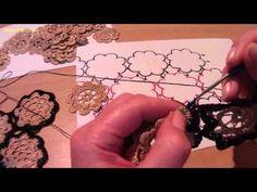 Соединение мотивов (вязание крючком). Compound motifs (crochet). Irish Crochet Patterns, Crochet Diagram, Crochet Chart, Crochet Top, Yandex, Romanian Lace, Crochet Videos, Lana, Diy And Crafts