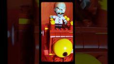 Dr. Zombie - Final Boss LEGO - Colección Rara Zombie 2, Plants Vs Zombies, Lava Lamp, Table Lamp, Home Decor, Lego Pieces, Table Lamps, Decoration Home, Room Decor