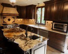 Exotic Granite Design Ideas, Pictures, Remodel, and Decor
