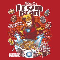 """""""Iron Bran"""" by Bamboota is $10 today at ShirtPunch.com (01/30). #tshirt #Marvel #IronMan #avengers"""