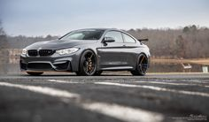 Black BMW GTS on and Brixton Forged Duo Series forged wheels finished in Satin Black / Acid Orange pinstripe / titanium hardware M4 Gts, Bmw Black, Forged Wheels, Bmw M4, Brixton, Exotic Cars, Bugatti, Hot Wheels, Super Cars