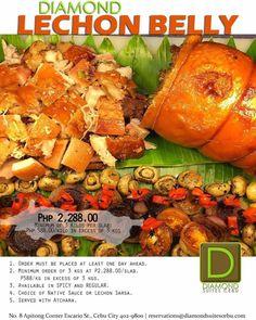 Christmas at Diamond Suites Lechon Belly, Cebu, Pot Roast, Spicy, Diamond, Celebrities, Places, Ethnic Recipes, Christmas