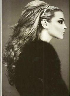 Jessica Stam for Numero Korea photographed by Mariano Vivanco - Love big hair Jessica Stam, Ombré Hair, Big Hair, Hair Day, Full Hair, Wavy Hair, Short Hair, 1960s Hair, Retro Hair