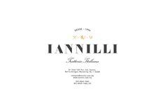 IANILLI — Savvy Studio, Mexico  Fantastic lockup