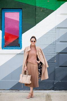 Eliza J Tan Long Coat