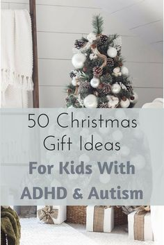 Gifts for kiddos with Autism, ADHD, SPD, or other sensory issues.