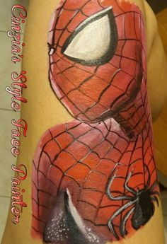 #Spiderman #face painting # truccabimbi