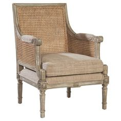 Check out this item at One Kings Lane! Clifton Armchair, Bisque