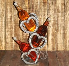 3 Bottle Heart Stagger WD1 UP