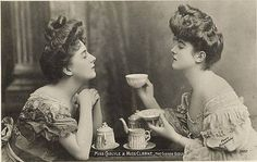 """""""Miss Carlyle & Miss Clarke, The Gibson Girls"""""""
