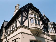 The charming Tudor Revival-style Natal Playhouse complex was built in the It is one of my favourite buildings in the city centre. Durban South Africa, Kwazulu Natal, Exterior Paint, Play Houses, Tudor, East Coast, Tours, Mansions, Architecture