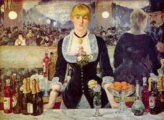 Edouard Manet, The Bar at the Folies-Bergere, 1882