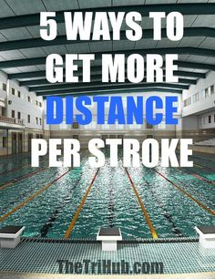 5 ways to get more distance per stroke. swimming tips. Red Dust Active - Functional. Fun. Stylish - active accessories made for active liefstyles - www.reddustactive.com