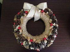 Christmas WreathSeasonal Wreath Holiday Wreath by JuraDeco on Etsy