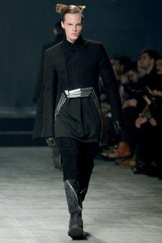 Rick Owens Menswear Fall-Winter 11.12 Show | Homotography