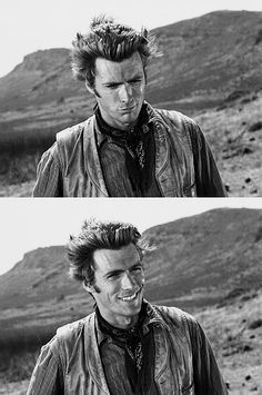 I can stare at this for ages. Love Rawhide Clint.