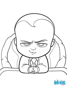 Coloring Page Boss Baby Boss Baby 19 Coloring Cartoons Boss