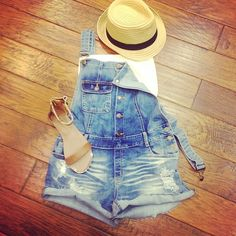 Totally want some short overalls!