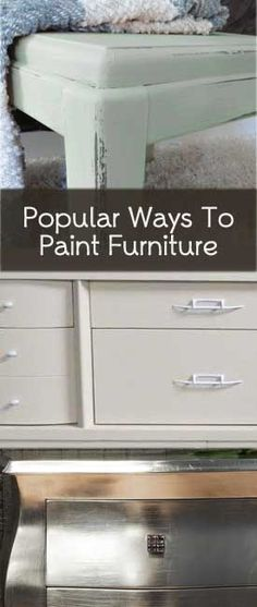 Here are 3 of the most popular styles for painted furniture in 2013: 1. Shabby Chic, Chalk Paint & Distressed Styles – This look involves painting with latex paint, chalk paint or milk paint – then, distressing. Although distressing isn't a must for this style. I will usually do a …