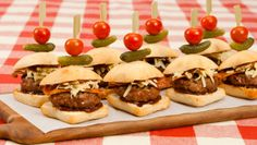 Best Recipes, #10 Double Trouble Bacon and Cheese Sliders