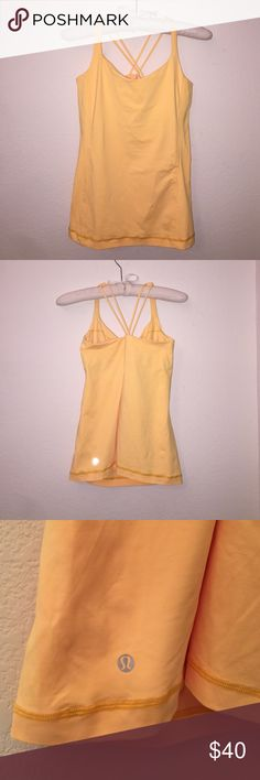 Lulu Tank Size 8, in like new condition. Does not have padding but has the insert slots for them. lululemon athletica Tops Tank Tops