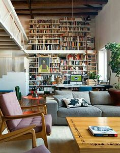 Love this personal library