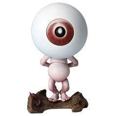 Kaiyodo Takeya Revoltech Gegege No Kitaro Medama Oyaji Non Scale for sale online Vinyl Figures, Action Figures, Vinyl Blinds, Spider Art, Halloween Eyeballs, Japanese Toys, Neon Glow, Monster Design, Vinyl Toys