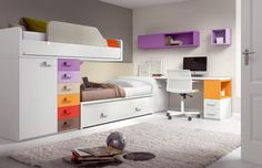 low loft bed kids   Loft Beds for Kids   Sizes, Shapes, Colors, and Themes
