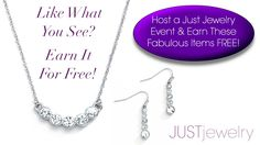 Ask your local Consultant how to earn fabulous FREE jewelry & shop at half-price! ---> http://justjewelry.com/Personal/connect.aspx <--- #justjewelry #jewelry #fashionjewelry #fashionaccessories #free #incentive #hostess