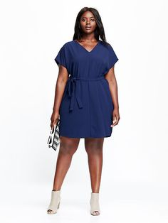 Women's Plus Shift Dress