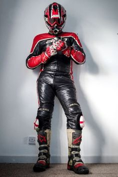 Leather And More Leather Bike Suit, Motorcycle Suit, Motorcycle Leather, Biker Leather, Leather Men, Motorcycle Clothes, Bajaj Motos, Motocross, Mx Boots