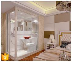 Cheap But High Quality Bathroom Prefab Modular Bathroom Units - Buy Bathroom Unit,Prefabricated Ba. Cheap Prefab Homes, Portable Bathroom, Van Conversion Interior, Micro Apartment, House Tiles, Tiny House Plans, Small Rooms, Small Spaces, Simple Bathroom