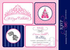 PRINCESS and KNIGHTS Birthday Party Printable by ShopAndersRuff, $18.00