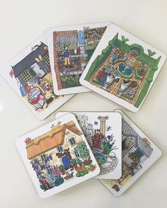 Coasters for gardening lovers! A beautiful day to be out in the sunshine, too ☀️ #garden #gardening #allotment #gift #present #coaster #tea #coffee #sun #cottage #madeintheuk #madeinbritain #alisongardiner