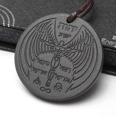 Angel Spiritual Design Quantum Scalar Energy Pendant