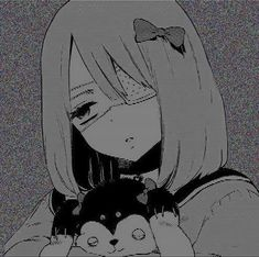emotions r payin the rent Sad Anime Girl, Manga Girl, Anime Girls, Fanarts Anime, Anime Characters, Dandere Anime, Kuudere, Gothic Anime, Dark Anime