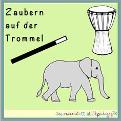 A drum game: drum spells - Kinderspiele Spelling, Drums, Songs, Games, Children, Blog, Animals, Fictional Characters, Musica